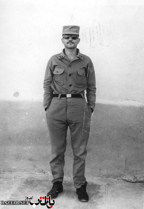 عکس/احمد توکلی در لباس سربازی
