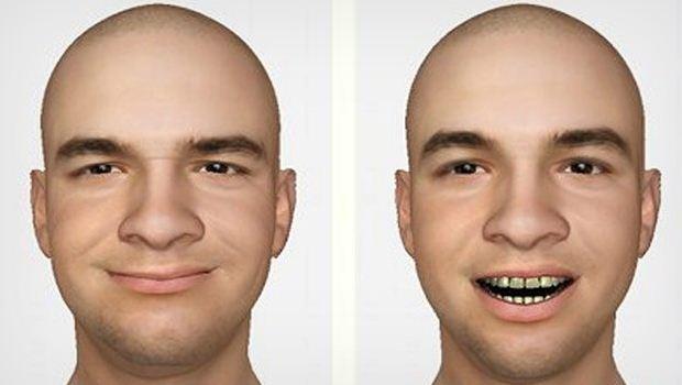 تصویر  ساخت تصویر ۳d از چهره