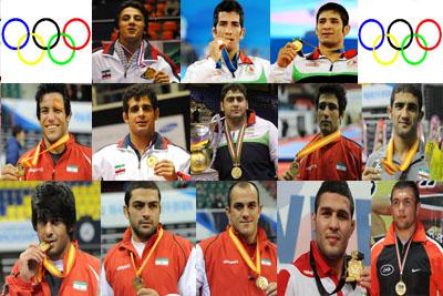 پهلوانان المپیک ایران