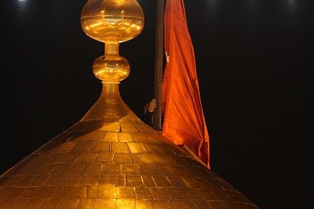 عکس پرچم حرم حضرت عباس