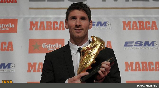 کفش طلای اروپا در دستان مسی