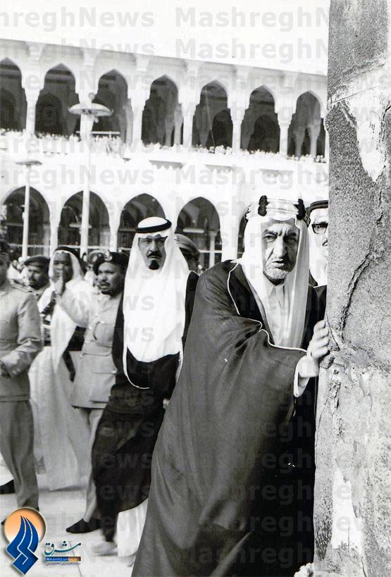244929 762 - سکوت شاه سعودي در برابر شکاف کعبه+ عکس