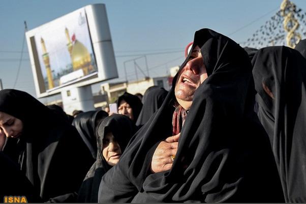 عکس ضریح امام حسین در ابادان