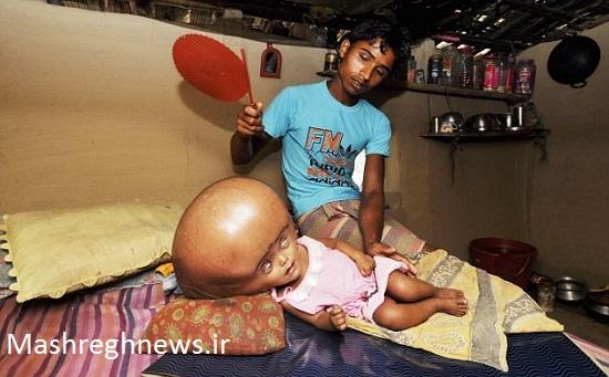 وحشتناک ترین کودک جهان +عکس