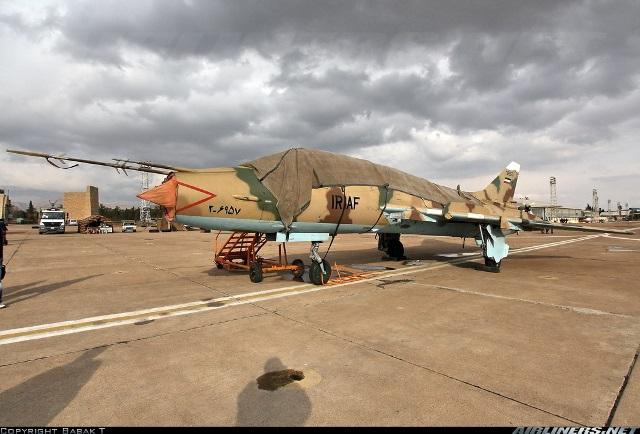 جنگندههای «سوخو ۲۲» ایران با موشک های لیزری و بمبهای مدرن +عکس
