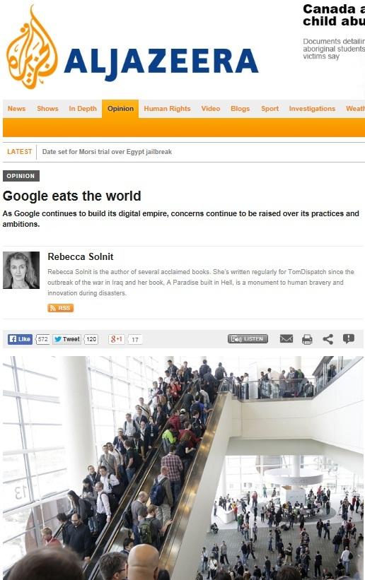 امپراتوری گوگل دنیا را میبلعد