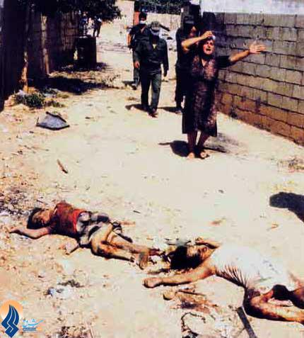 ادای احترام وزیر امور خارجه به شهید مغنیه دشمنان را برآشفته کرد///مدعیان حقوق بشر سر قبر قصاب شارون