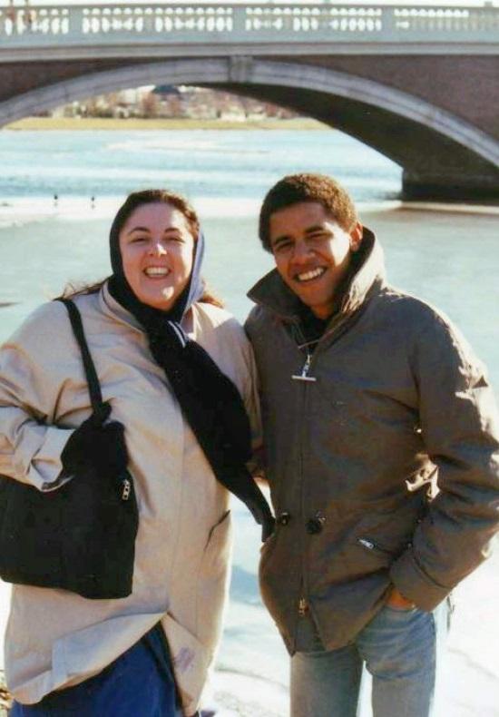تصویر: مادر باراک اوباما با روسری