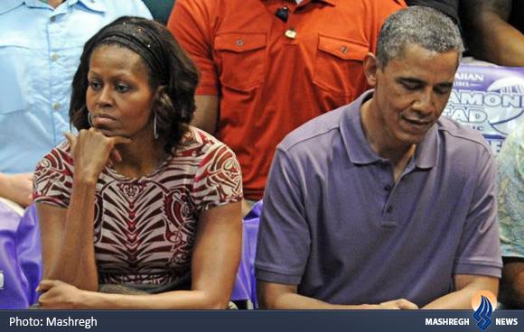 زندگی خصوصی آقا و خانم اوباما+عکس
