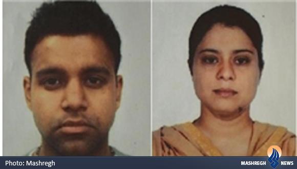 زوج هندی قاتلان دختر ایرانی+عکس