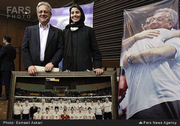 عکس/ولاسکو و همسرش در مراسم خداحافظی