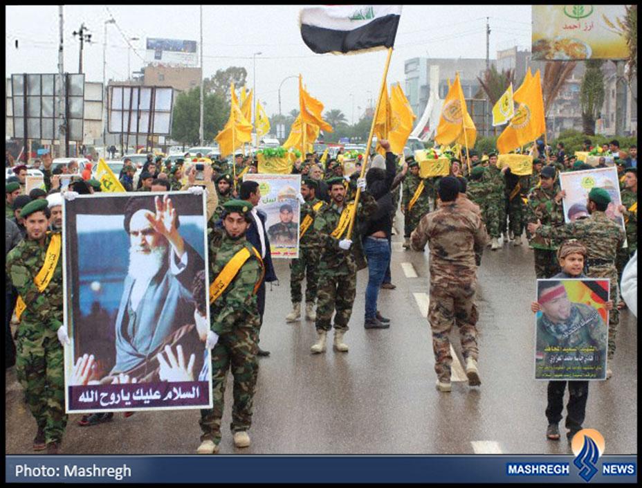 عکس / «مدافعان حرم» در «بصره»
