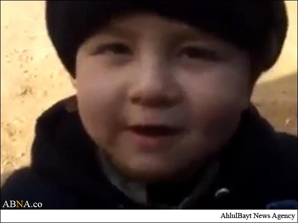 کوچکترین عضو داعش را بشناسید +تصاویر