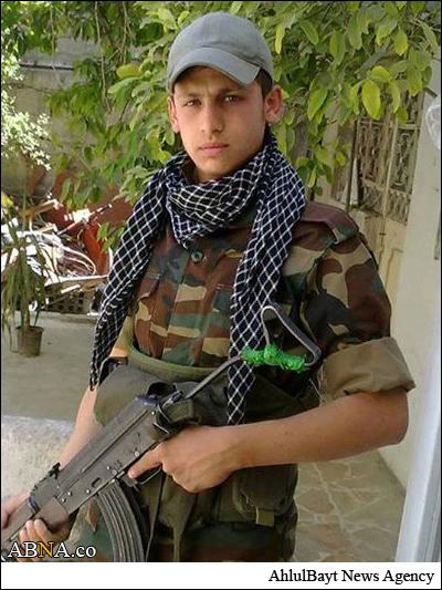 شهادت نوجوان مدافع حرم+عکس
