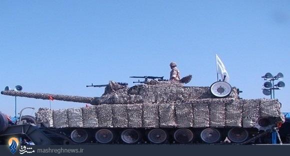 تانکهای ایرانی با زره ناوهای هواپیمابر