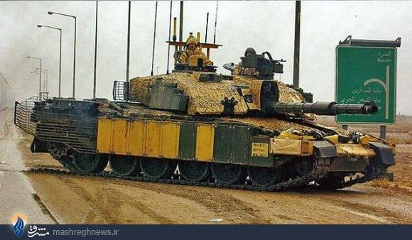 تانکهای ایرانی با