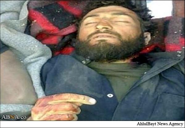اعدام فرمانده داعش