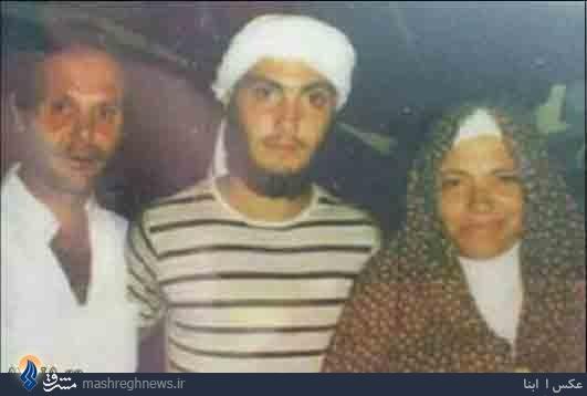 مغنیه جوان در کنار پدر و مادرش+عکس