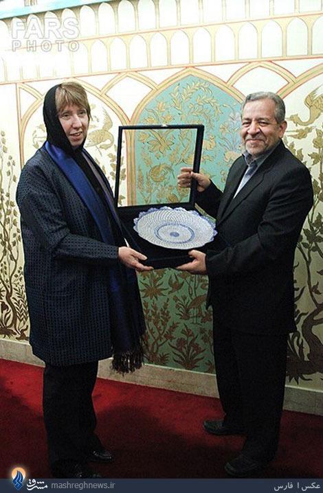 عکس/هدیهای که اشتون در اصفهان گرفت
