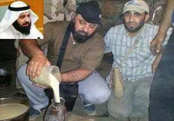 نماینده کویتی در حال ساخت بمب در سوریه +عکس