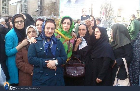 تصویر/مادر ستار بهشتی؛ اینجا، آنجا، همهجا!