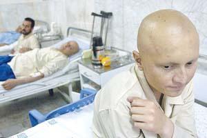 مشکلات مضاعف بیماران بستری در بیمارستان سرطانیها