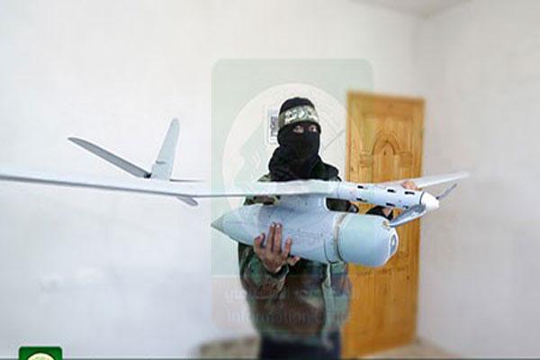 عکس/پهپاد اسراییلی در اختیار حماس