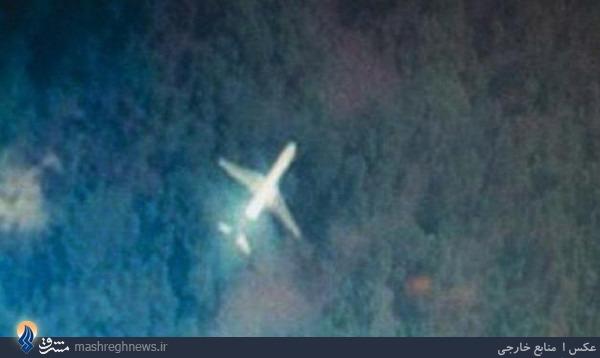 تنها تصویر از هواپیمای ناپدید شده مالزی