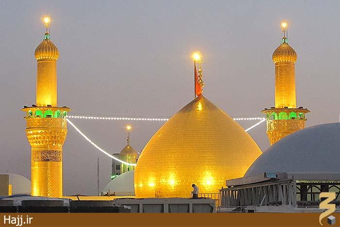 نتیجه تصویری برای عکس های فوق العاده زیبا از حرم امام حسین
