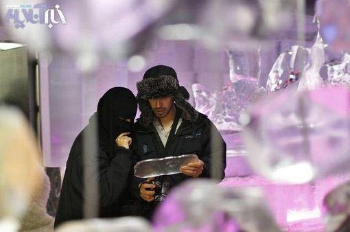 کافی شاپ یخی در دبی+عکس