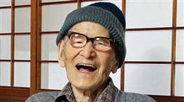 پیرترین انسان جهان مرد +عکس