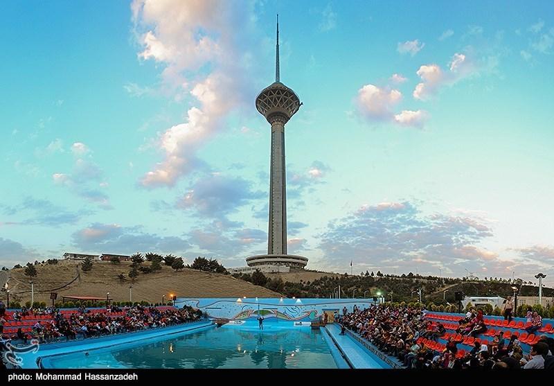 تصاویر زیبا از برج میلاد تهران