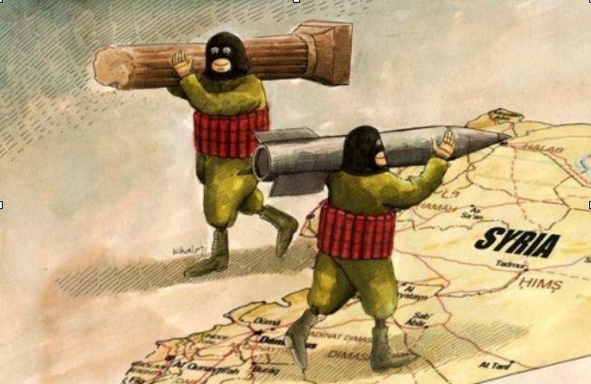 نتیجه تصویری برای سرقت میراث فرهنگی سوریه