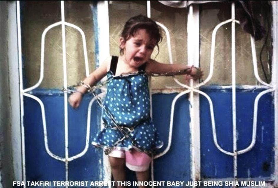جنایات تکفیری ها در سوریه