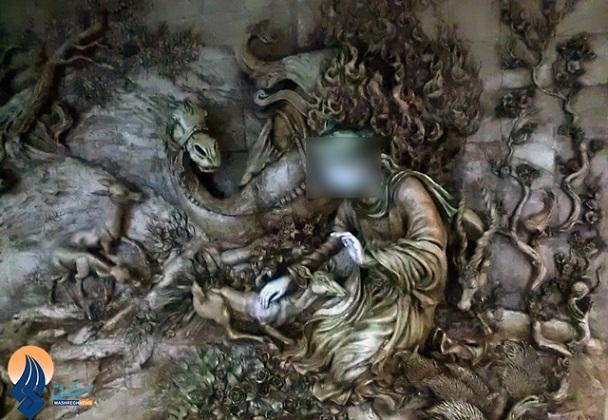 تمثال امام رضا