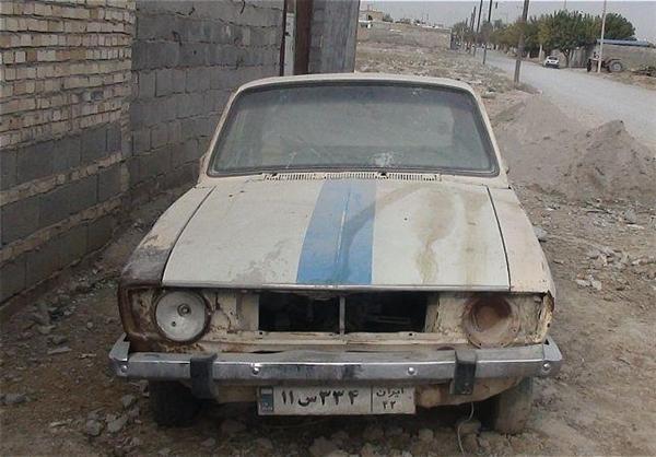 نصب یک پلاک برای 2 خودرو  در شهرستان درگز +عکس