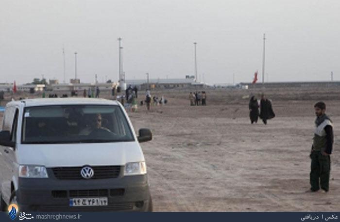 حضور خانوادگی فرمانده سپاه در شلمچه +تصاویر