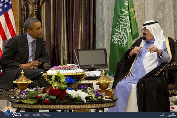 دردسر جدید ملک عبدالله +تصاویر
