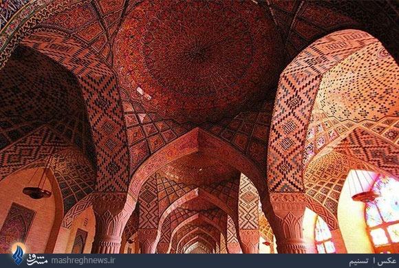 زیباترین مسجد ایران را در شیراز ببینید+تصاویر