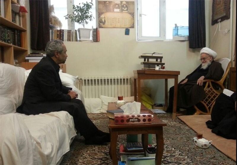 دیدار رئیس دفتر رئیسجمهور با مراجع عظام تقلید