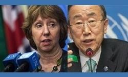 اشتون و بانکیمون ناقضان اصلی حقوق بشر