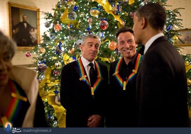 عکس/ اوباما و رابرت دنیرو