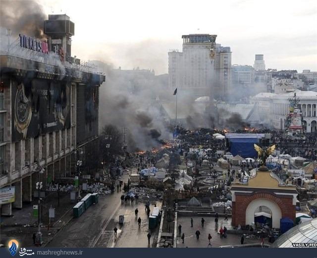 آمریکا انتقام شکست در سوریه را در اوکراین گرفت//////