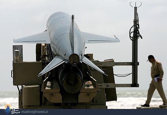 6 موشک کروز دریایی ایران