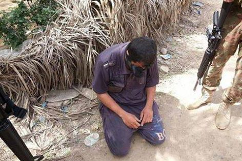 بازداشت تک تیراندازهای داعش در فلوجه