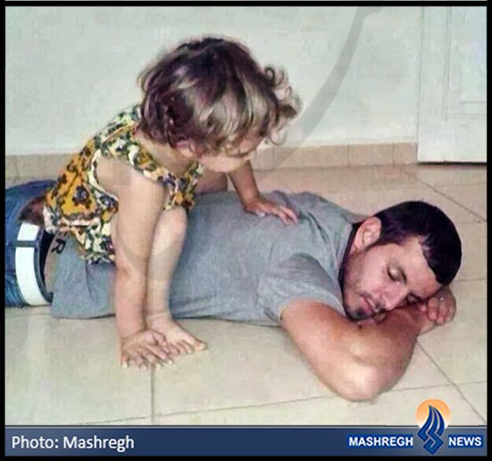 عکس / بابای خوبم! بیدار شو