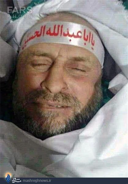 عکس/ لبخند شهید حزبالله بعد از شهادت