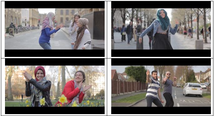 اسلام انگلیسی با طعم رقص زن مسلمان