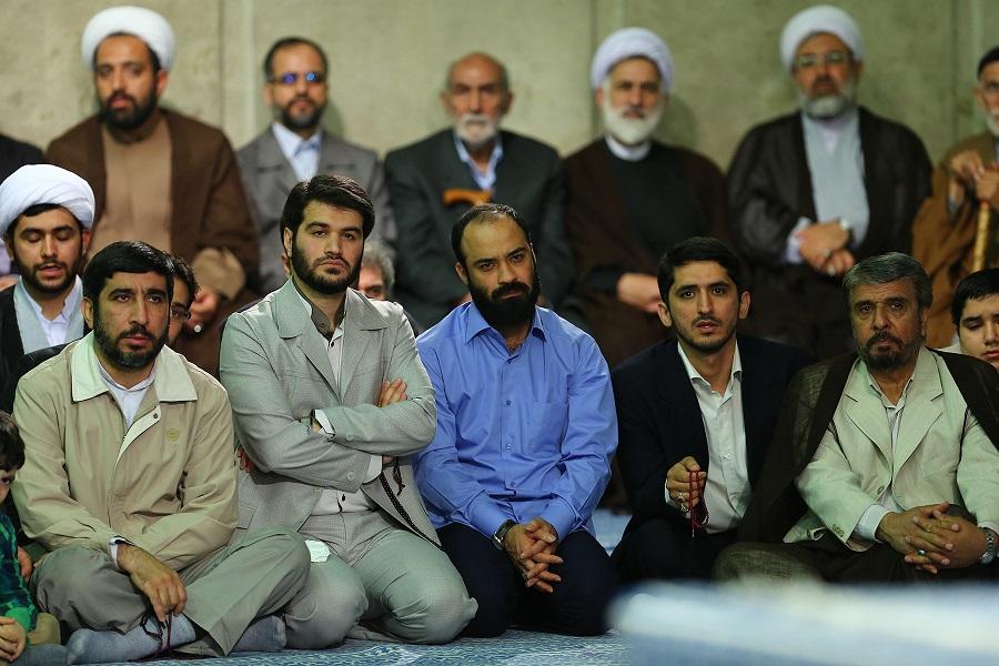 عکس/مطیعی،هلالی و سلحشور در بیت رهبری