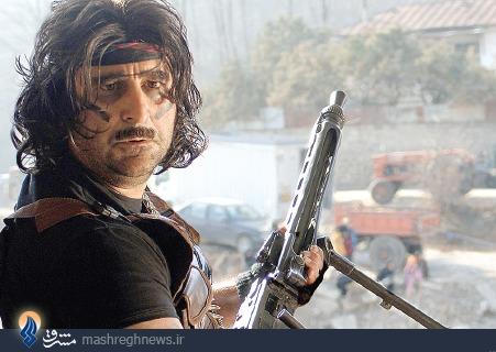 عکس/ مهران احمدی در نقش رمبو